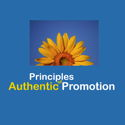 free 31-page guide, Principles of Authentic Promotion - from the Accidental Entrepreneurs Guide to Self-Employment Success site