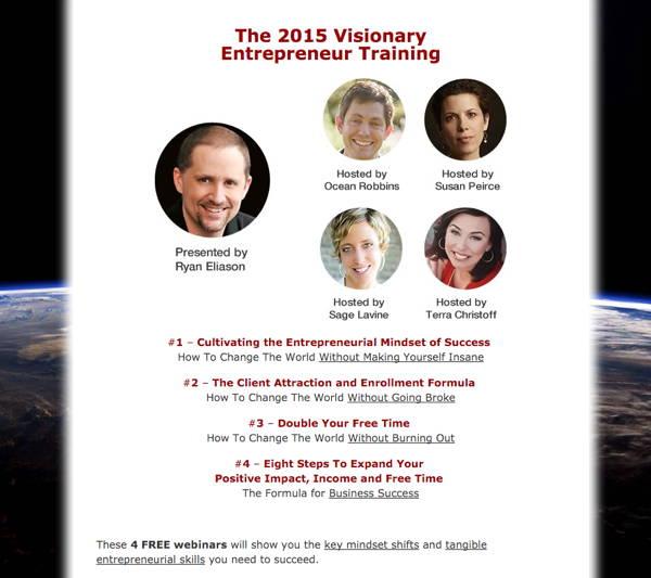 2015 Visionary Entrepreneur Empowerment Training webinar series