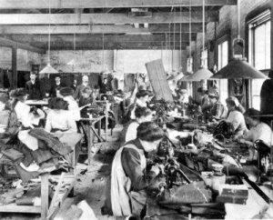 sweatshop, c. 1890