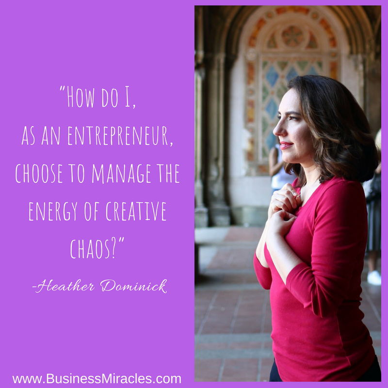 webinar for Highly Sensitive Entrepreneurs by Heather Dominick