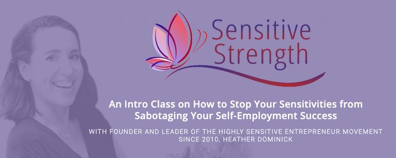 Sensitive Strength webinar